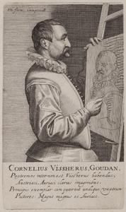 Portret van Cornelis de Visscher (1520-1586)