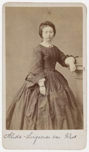 Portret van Alida Henriette van West ( -1921)