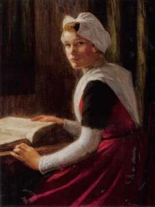 Amsterdams weesmeisje met Bijbel