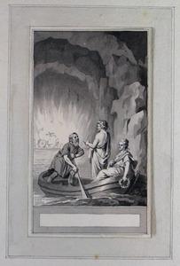 Illustratie bij 'Elmire en Selinde' uit de Fabelen en vertelsels van F.C. Gellert