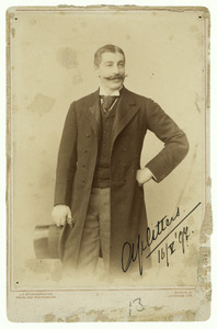 Portret van waarschijnlijk Jhr. Mr. Adolf Jacobus van Citters (1855-1928)