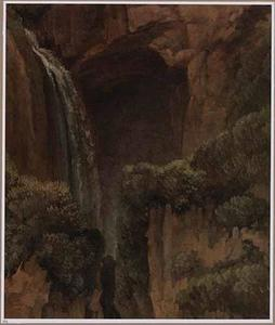 Een waterval en een grot te Tivoli