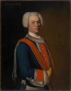 Portret van Charles de Saumaise (1704-1770)