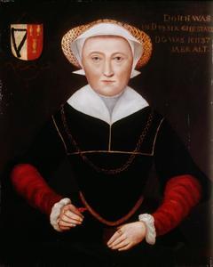 Portret van Anna van Twickelo (.... -1605)