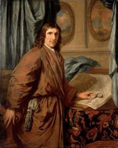 Portret van een man, mogelijk Philips de Flines (1640-1700)