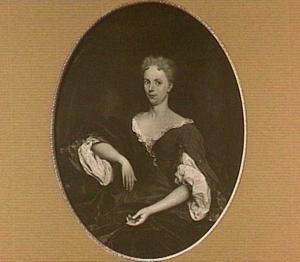 Portret van Anna Quevellerius, echtgenote van Hendrik Trip