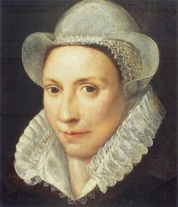 Portret van een vrouw, mogelijk Maria Everdey (....-1595)