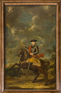 Portret van Reinhard van Reede Ginkel (1678-1747)