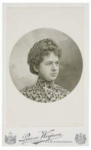 Portret van Adriana Maria Josepha Canters (1881-1975)