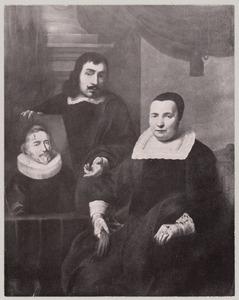 Dubbelportret van Dingeman van der Hagen (1610-1668) en zijn moeder Marigje van Nuyssenburgh (....-....)