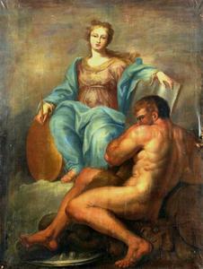 Allegorie van de Wijsheid en de Kracht