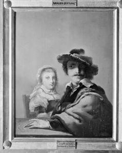 Dubbelportret van Rembrandt en Saskia