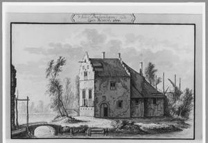 Voor-en rechterzijde van huis Boelenham bij Hemmen