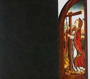Engel met het kruis en de lans
