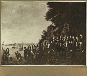 Allegorie op de bloei van de Nederlandse visserij na de Tweede Engelse Zeeorlog