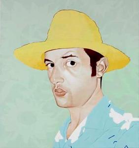 Zelfportret van Sidi El Karchi (1975-)