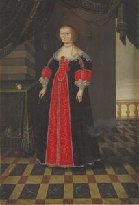 Portret van koningin Maria Eleonora (1599-1655)