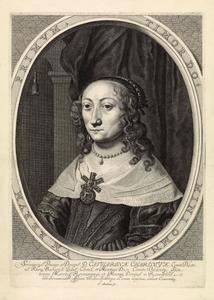 Portret van Katharina Charlotte van Palts-Zweibrücken (1615-1651)
