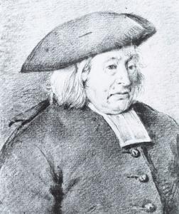 Portret van Age Wijnalda (1712-1792)