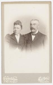 Portret van Guillaume Pierre van Outeren (1858-1912) en Pieter van Outeren (1863-1918)