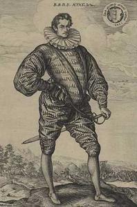 Portret van Balthasar Báthory de Somlyó  (1560-1594)