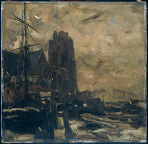 Dordrecht bij avond