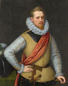 Portret van een onbekende officier