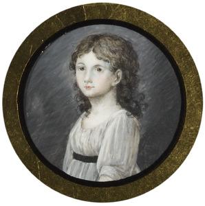 Portret van Maria Charlotte Veerman Senserff (1790-1825)