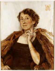 Portret van Theodora Theresia Maria Regout (1889-1989)