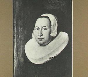 Portret van Maria Pietersdr de Leest, eerste vrouw van Samuel van Lansbergen