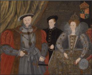 Henry VIII, Elizabeth I en Edward VI