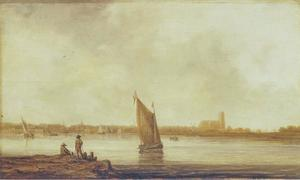 Aanzicht van Dordrecht