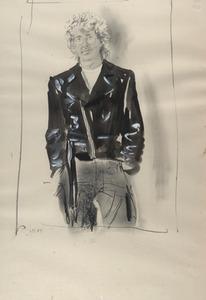 Portret van Jurjen de Haan (1936- )