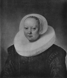 Portret van Geertruyd Everwijn (....-1660)