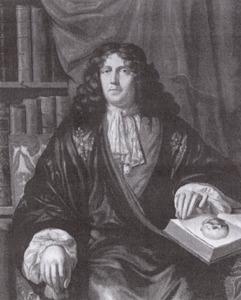 Portret van Adriaen Alberding (1650-1702)
