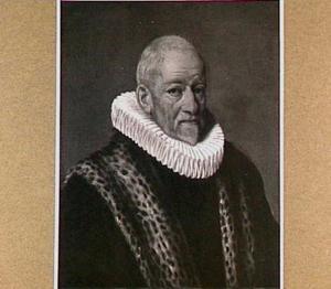 Portret van Hendrikvan Zijl (1545-1627)