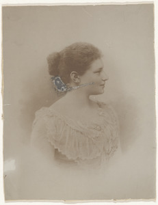 Portret van Helena Petronella Cornelia Gratama (1871-1943)