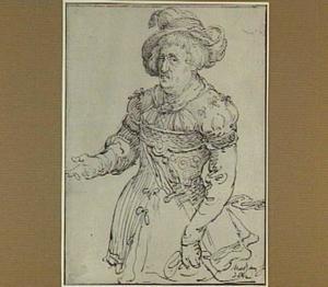 Marodeur (achterblijvende, plunderende soldaat)
