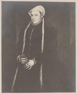 Portret van Maria van Hongarije (1505-1558)