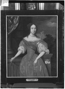 Portret van Catharina van Scheltinga (1666-1724)