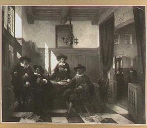 Een regentenkamer in de zeventiende eeuw