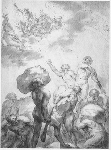 Strijd van de goden en giganten (Metamorfosen 1:152-158)