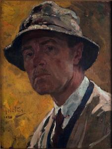 Portret van Hendrik Jan Wolter (1873-1952)