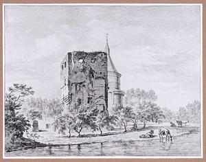 Ruïne van het kasteel van Wijk bij Duurstede