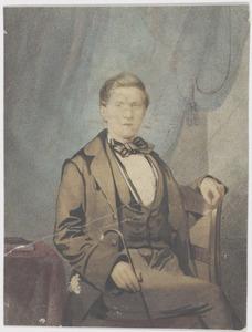 Portret van Johannes Willem Abraham van Soest (1838-1901)