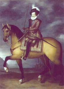 Ruiterportret van Henri IV