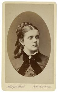 Portret van Johanna Margaretha Tjeenk Willink (1857-1938)