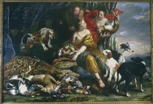 Diana en haar nimfen