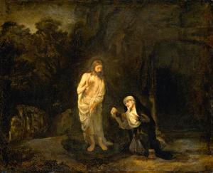 Christus verschijnt voor Maria Magdalena: Noli me tangere