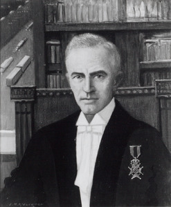 Portret van Gerrard Bernard van de Werfhorst (1888-1939)